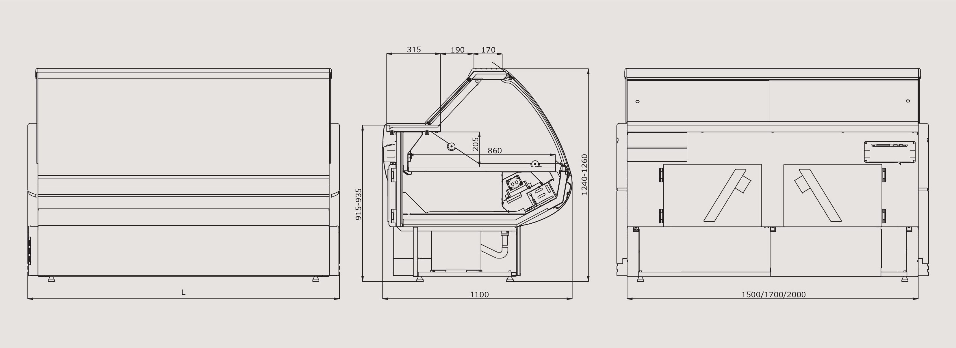 витрины схема холодильника