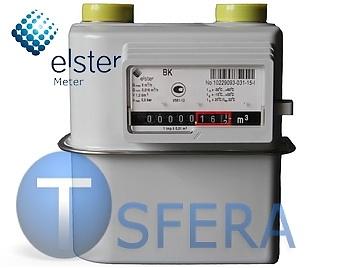 Счетчик газа Metrix G6 (130/250 мм) бытовой диафрагменный